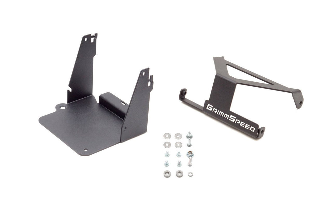 GrimmSpeed Lightweight Battery Mount Kit 13-18 Ford Focus ST & 16-18 Focus RS