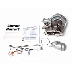 Garrett GTX3576R GEN 2 Dual Ball Bearing Turbo - Evo X Bolt-On Factory 3 Bolt Comp & Internal Wastegate, .94 A/R