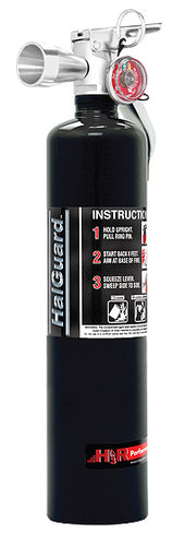 H3R Performance Halguard Clean Agent 2.5lb Black Fire Extinguisher