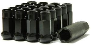 Muteki SR48 Open End Lug Nuts - Black