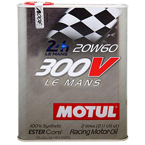 Motul 300V 20W60 Racing Engine Oil 300V LE MANS 2L - Universal