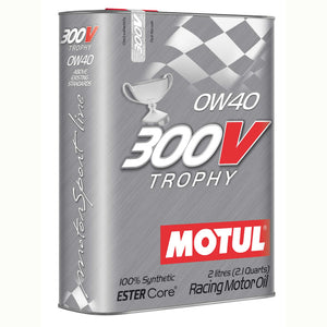 Motul 300V 0W40 Racing Engine Oil 300V TROPHY 2L - Universal