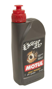 Motul GEAR 300 75W90 Transmission/Diff Fluid Synthetic Ester 1L - Universal