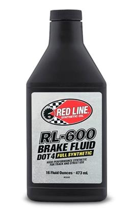 Red Line RL-600 DOT 4 Brake Fluid 16 oz - Universal