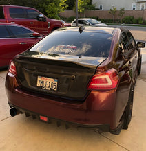 Load image into Gallery viewer, VIS Racing SS Carbon Fiber Trunk w/ Carbon Fiber Garnish 2015+ WRX/STi