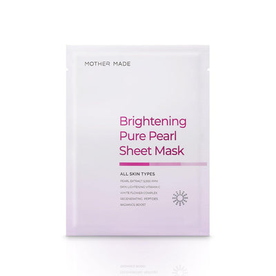 Brightening Pure Pearl Face Sheet Mask - MOTHER MADE