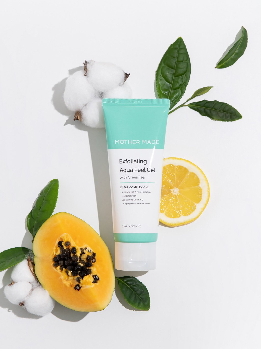 Exfoliating Aqua Peel Gel with Green Tea - MOTHER MADE