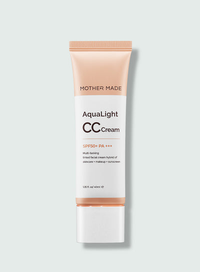 The AquaLight CC Cream SPF50+PA+++ (Natural Beige) - MOTHER MADE