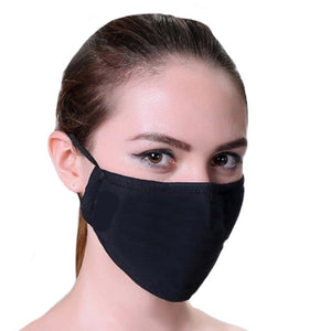 12 x Cotton Re-usable Face Masks - With Interchangeable Filter