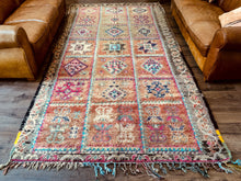 Load image into Gallery viewer, Vintage Youness Moroccan Boujad Rug 350 x 180cm