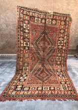 Load image into Gallery viewer, Vintage Adil Moroccan Boujad Rug 350 x 190cm