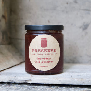 Strawberry Chili Preserve