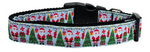 Santa Paws Nylon Collar