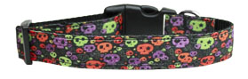 Ghouly Souls Pumpkin Pie Nylon Collar