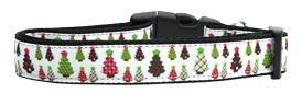 Christmas Tree Glee Nylon Collar