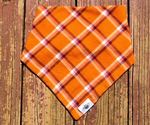 Autumn Evening Flannel Wandermutt Bandana