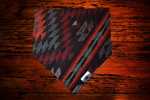 Aztec Fire and Smoke Wandermutt Bandana
