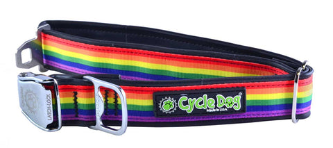 CycleDog Rainbow Bike Tubing with Bottle Opener Collar