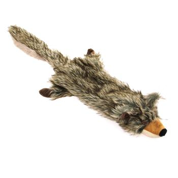 Zanies Unstuffies Critter Coyote Toy