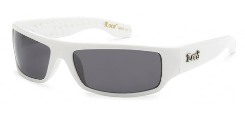 Locs 9003 White Sunglasses | Gangster Sunglasses