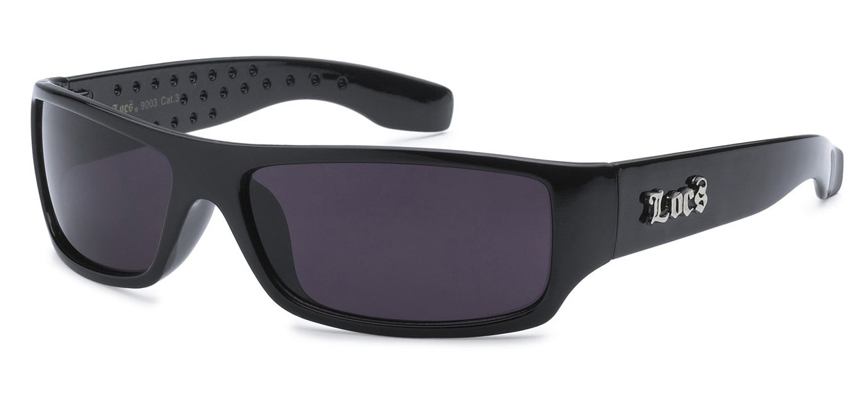 Locs 9003 Black Sunglasses | Gangster Sunglasses