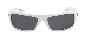 Locs 9003 White Sunglasses | Front View