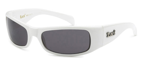 Locs 9005 White | Gangster Sunglasses