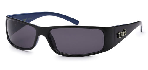 Locs 9029 Black Blue | Gangster Sunglasses