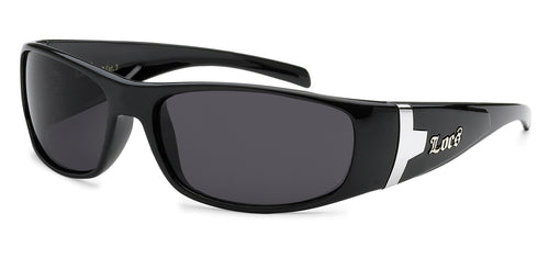 Locs 9030 Black | Gangster Sunglasses