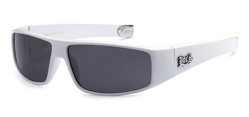 Locs 9035 White | Gangster Sunglasses