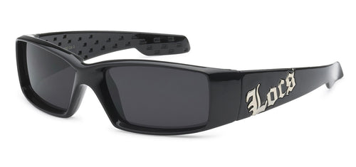 Locs 9052 Black | Gangster Sunglasses