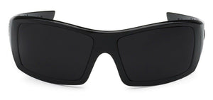 Locs 9054 Black Sunglasses | Front View