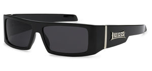 Locs 9058 Black | Gangster Sunglasses