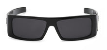 Load image into Gallery viewer, Locs 9058 Black Sunglasses | Front View