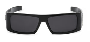 Locs 9058 Black Sunglasses | Front View