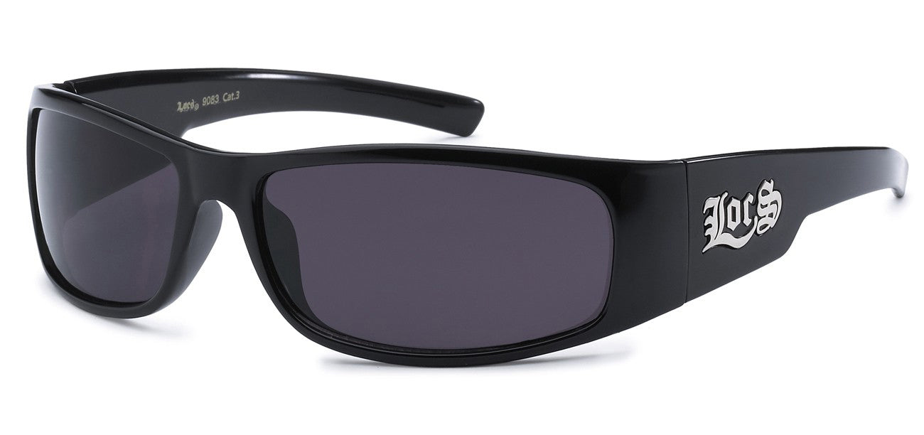 Locs 9083 Black Sunglasses | Main View