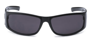 Locs 9083 Black Sunglasses | Front View