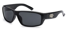 Load image into Gallery viewer, Locs 91053 Black | Gangster Sunglasses