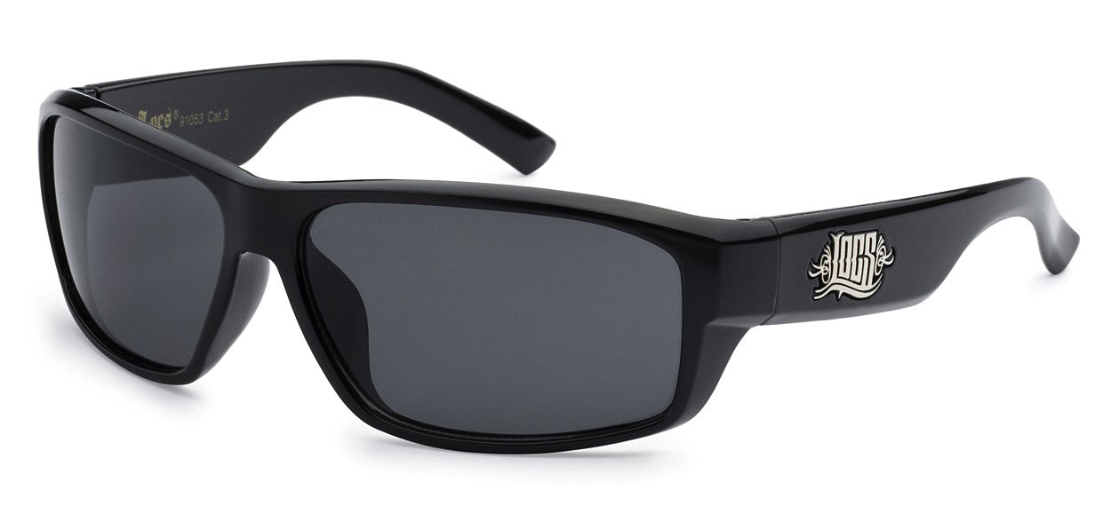Locs 91053 Black | Gangster Sunglasses