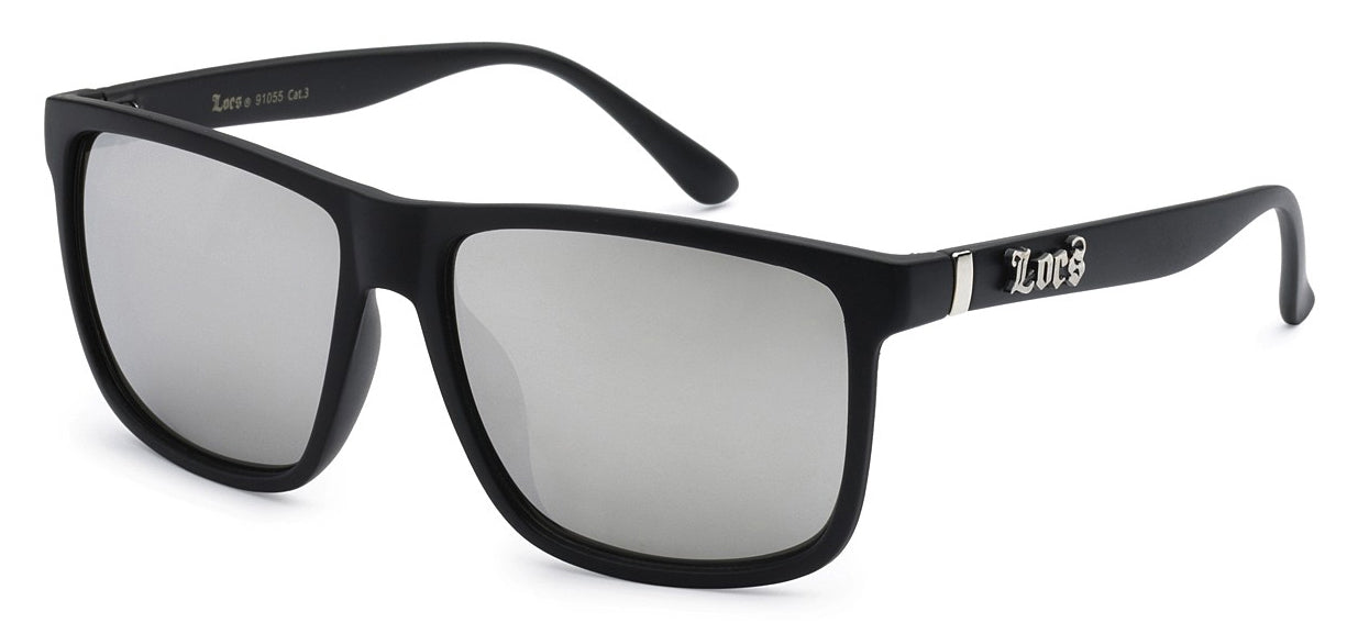 Locs 91055 Matte Mirror | Gangster Sunglasses