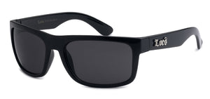 Locs 91063 Black | Gangster Sunglasses