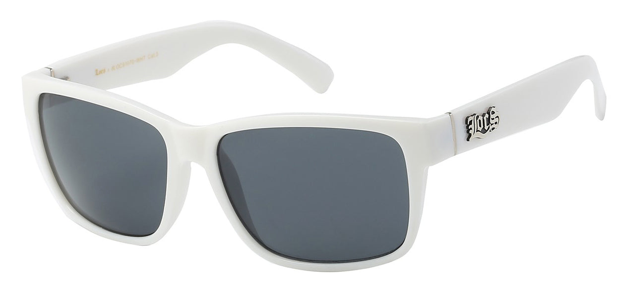 Locs 91070 White | Gangster Sunglasses
