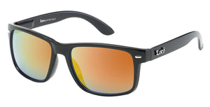 Locs 91109 Black Yellow | Gangster Sunglasses