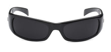 Load image into Gallery viewer, Locs 9005 Black Sunglasses | Front View