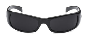 Locs 9005 Black Sunglasses | Front View