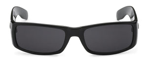 Locs 9006 Black Sunglasses | Front View