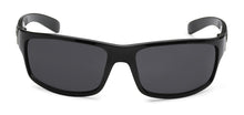 Load image into Gallery viewer, Locs 9025 Black Sunglasses | Front View