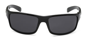 Locs 9025 Black Sunglasses | Front View