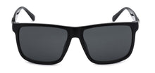 Load image into Gallery viewer, Locs 91055 Black Sunglasses | Front View
