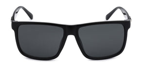 Locs 91055 Black Sunglasses | Front View